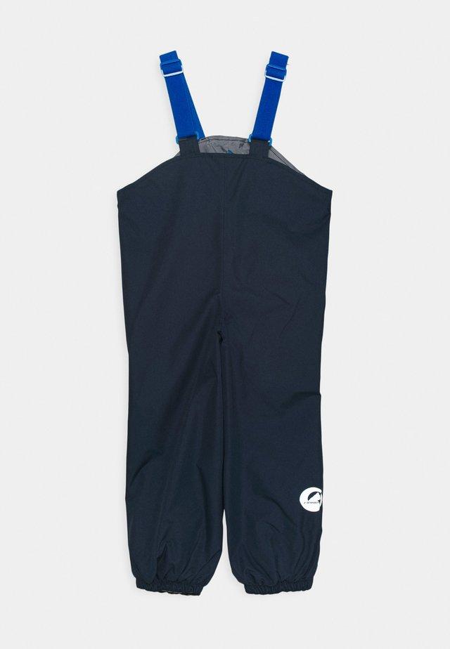 PULLEA UNISEX - Pantaloni impermeabili - navy