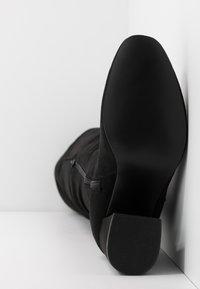 New Look - DELIGHT - Laarzen met hoge hak - black - 6