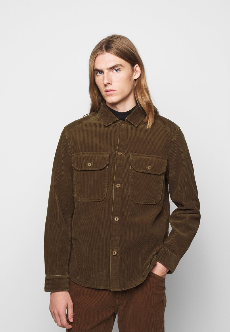 CLOSED - ARMY OVER SHIRT - Chemise - chocolate brown