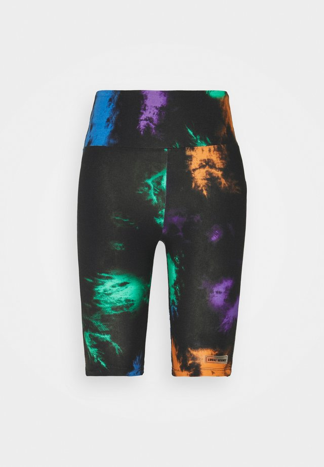 ACID CYCLE - Shorts - black/multicolor