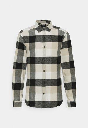 ONSGUDMUND LIFE CHECK SHIRT - Shirt - star white