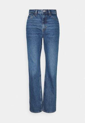 VOYAGE LOVED - Jeans Straight Leg - sea blue