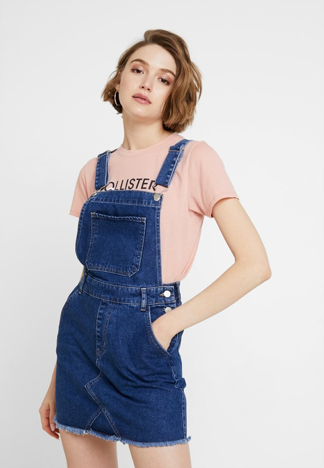 Denim dress - mid blue denim