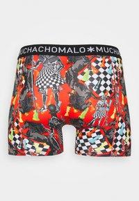 MUCHACHOMALO - VARI 3 PACK - Boxerky - red/black/orange - 1