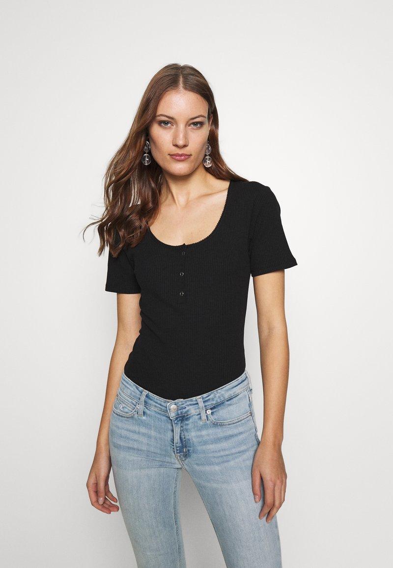 Modström - ORSON - Basic T-shirt - black
