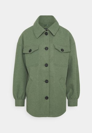 ONLLIVA SHACKET - Classic coat - jadeite