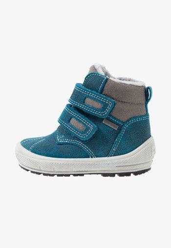 GROOVY - Winter boots - blau/grau