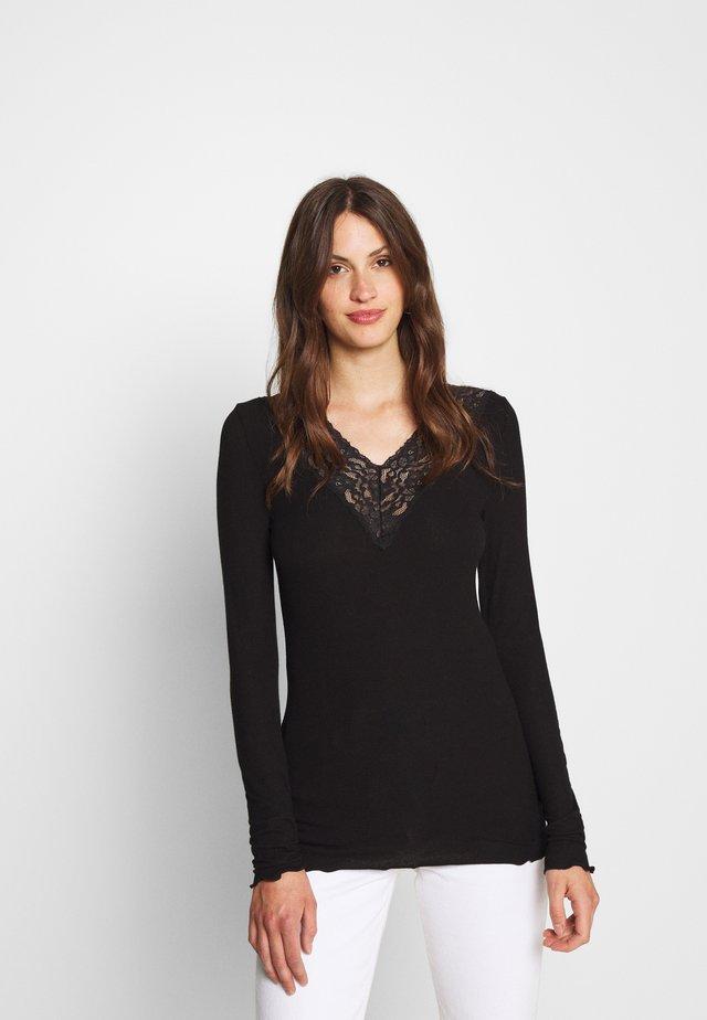 PCSIRI  - Maglietta a manica lunga - black