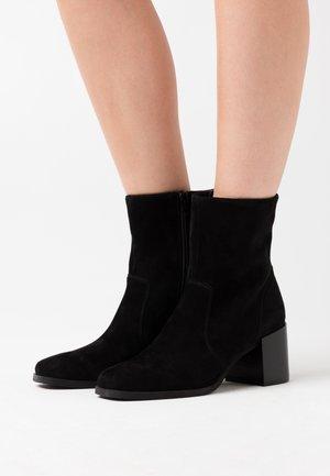 GUMMA - Kotníkové boty - black