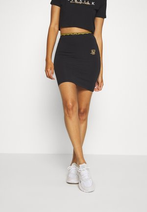 ATHENA TAPE SKIRT - Miniskjørt - black