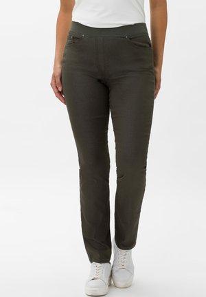 STYLE PAMINA - Slim fit jeans - khaki