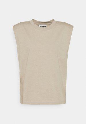BEIJING  - Basic T-shirt - cobblestone