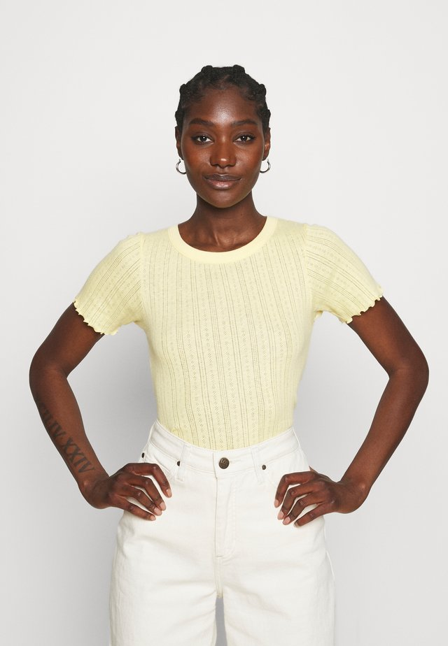 POINTELLA TRIXA - T-shirt basic - yellow