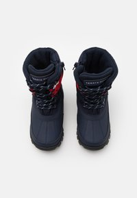 Tommy Hilfiger - UNISEX - Winter boots - blue/red - 3