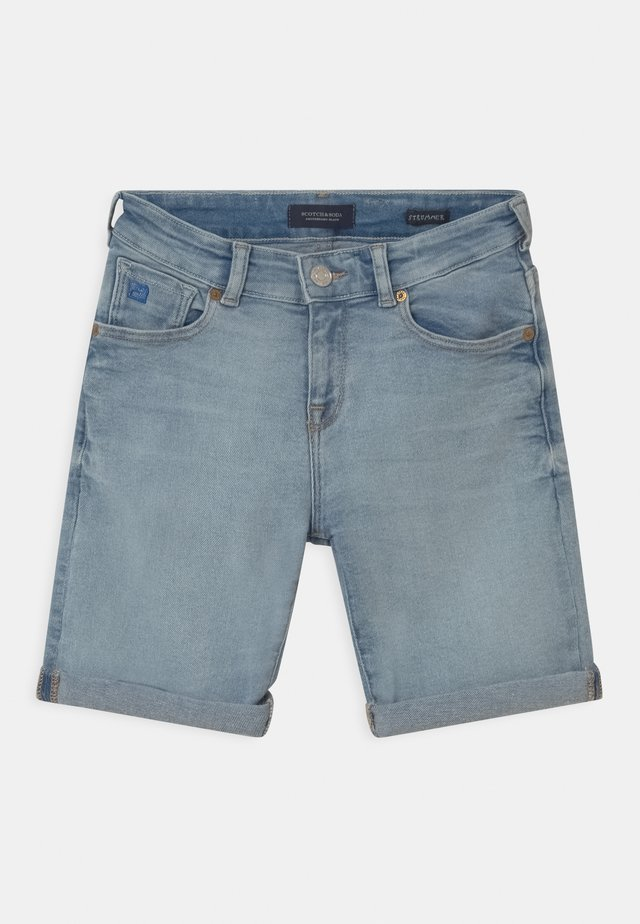 STRUMMER - Shorts di jeans - ice layer