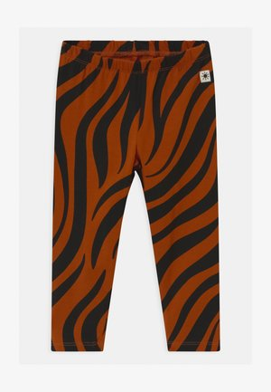 ZEBRA UNISEX - Leggings - Trousers - off black