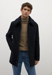 Mango - LANZA - Short coat - dark navy - 0