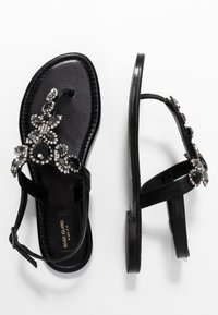 River Island Wide Fit - Teensandalen - black - 3