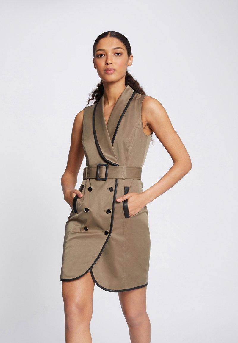 Morgan - Day dress - khaki