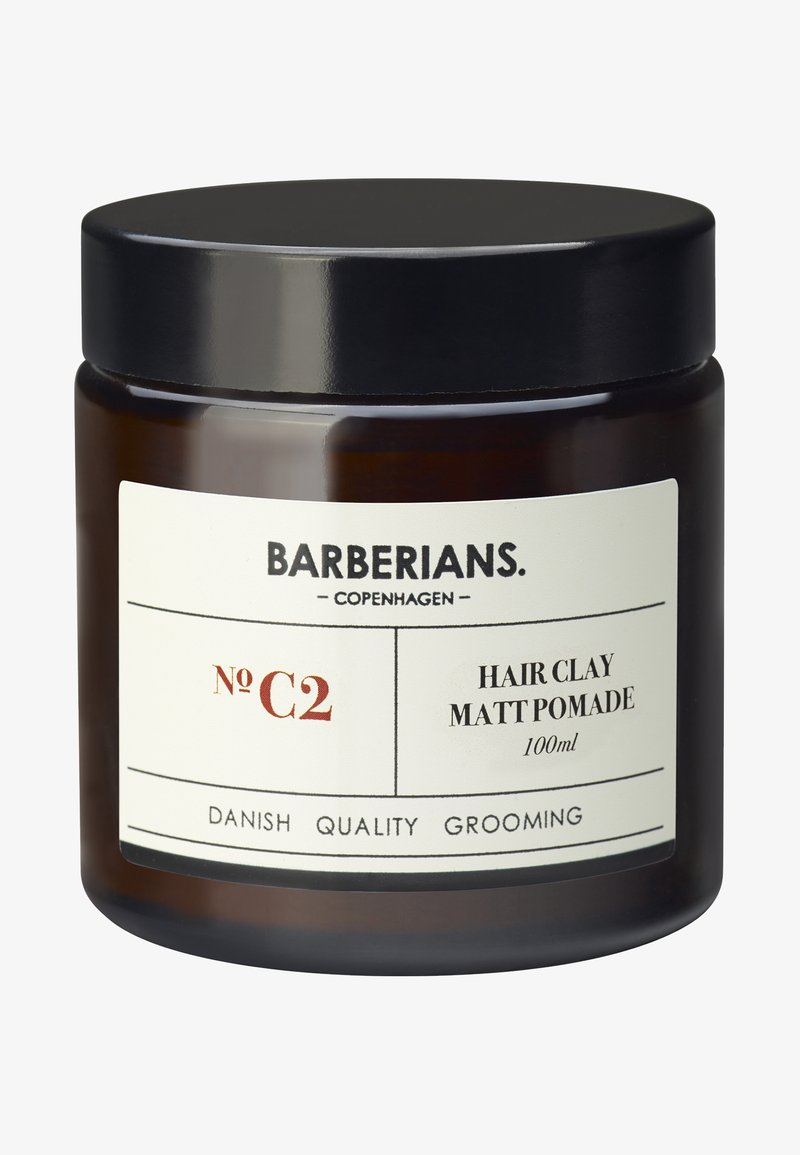 Barberians - HAIR CLAY MATT POMADE - Produit coiffant - -