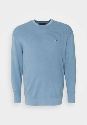 FINE ZIG ZAG CREW NECK - Jumper - colorado indigo