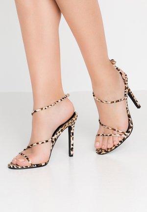 ZION - Sandaler med høye hæler - brown