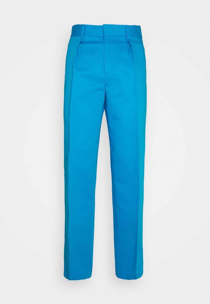 GCDS - ARCHIVE PANTS - Pantalon classique - diva blue