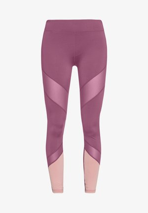 Tights - dark red/pink
