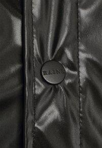 Rains - JACKET UNISEX - Impermeable - shiny black - 6