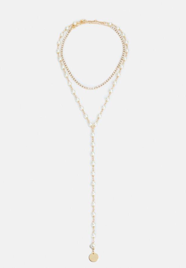 ERARDOVIA SET - Necklace - gold-coloured/ivory