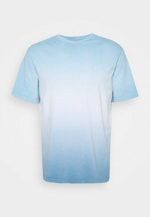 COLOR DIP DYE - Print T-shirt - blue