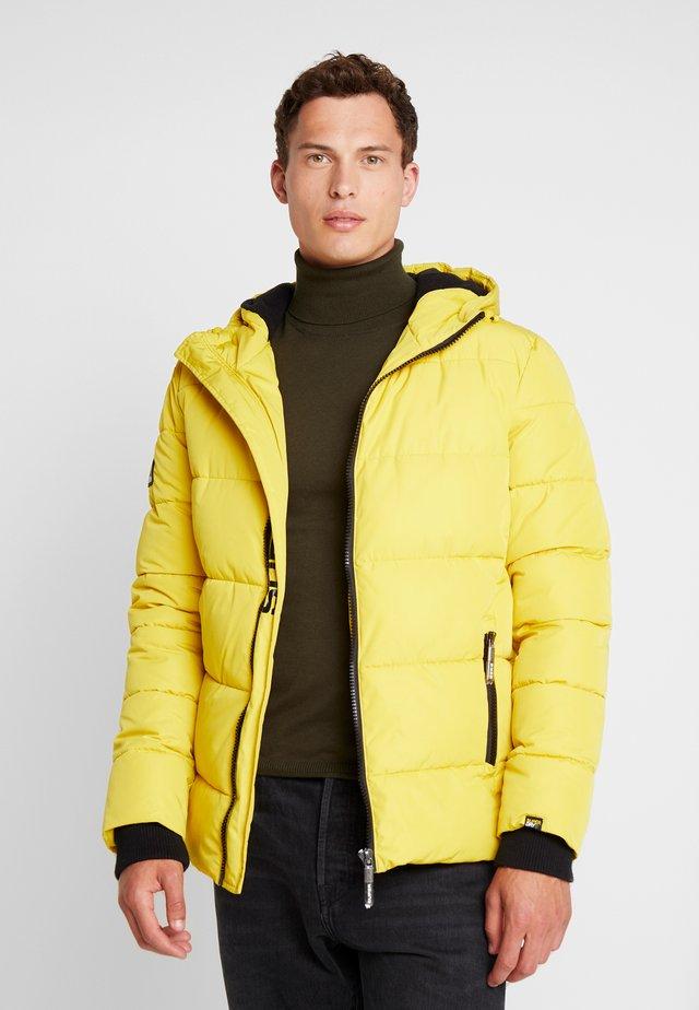 SPORTS PUFFER - Winter jacket - sulphur