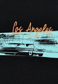 PULL&BEAR - LOS ANGELES - Print T-shirt - black - 5