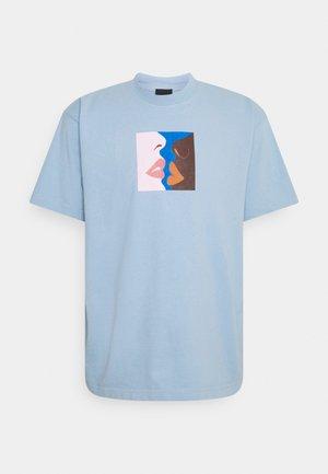 HERS - Print T-shirt - light blue