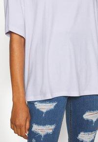 Even&Odd Tall - OVERSIZED SLOUCHY TEE - Jednoduché triko - white - 5