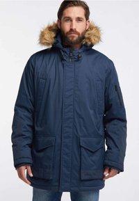 HAWKE&CO - Winter coat - dark blue - 0