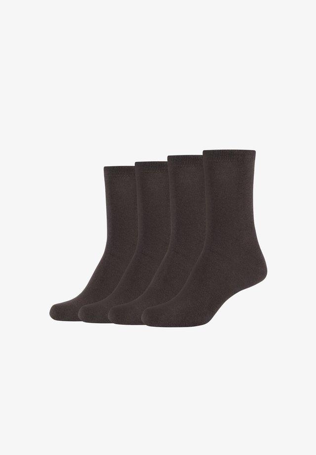 4PACK - Socks - chocolate