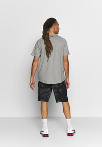 Under Armour - PROJECT ROCK TERRY PRINTED SHORT - Sports shorts - black/pitch gray - 2
