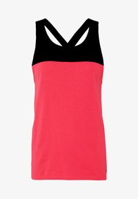 The North Face - WOMENS NORTH DOME TANK - Top - cayenne red/black - 4