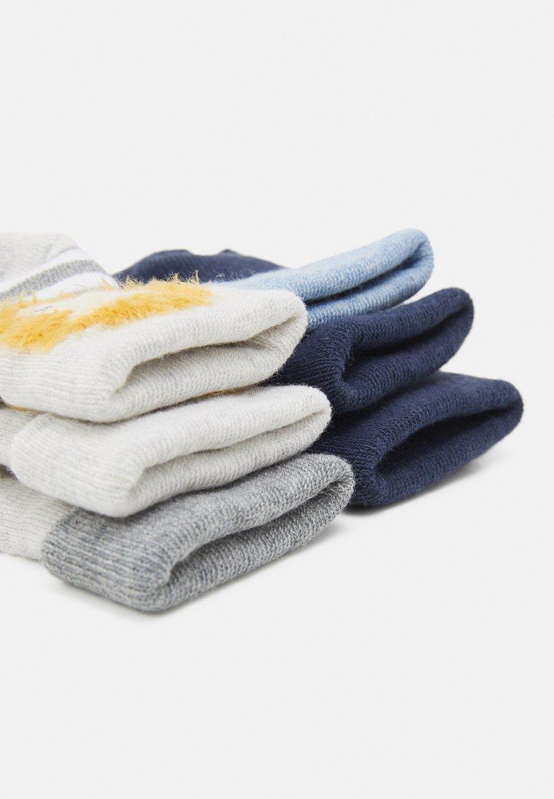 Ewers - LION 6 PACK - Socks - blue/grey