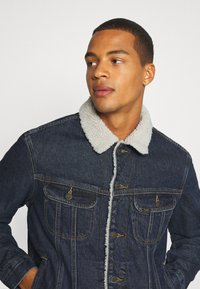 Lee - SHERPA  - Jas - dark blue denim - 3