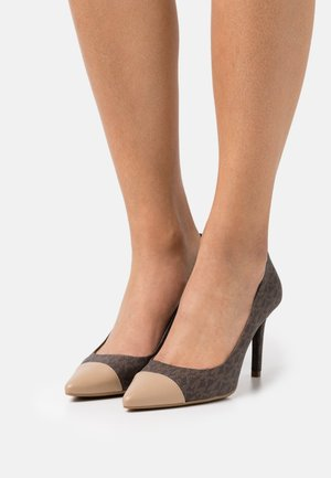 DOROTHY FLEX MID TOE CAP - Classic heels - brown