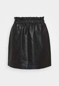 ONLY - ONLCOCO SKIRT  - Mini skirt - black - 5