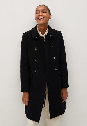BOMBONS - Classic coat - black