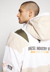Diesel - J-REED JACKET - Summer jacket - cream - 3