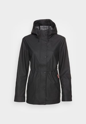 WOMENS LIGHTWEIGHT RUBBERISED JACKET - Lehká bunda - black