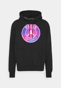 Nike Performance - JORDAN PARIS ST GERMAIN HOODIE - Club wear - black - 4