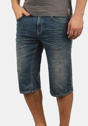 DENON - Denim shorts - denim midd