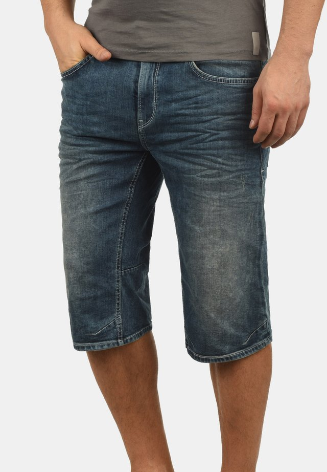 DENON - Short en jean - denim midd