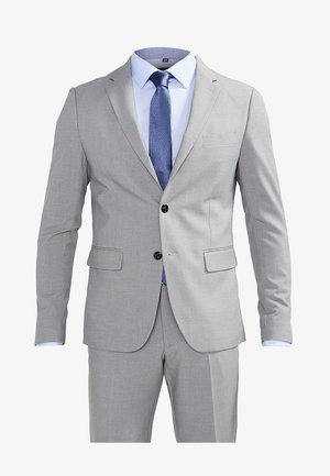 PLAIN MENS SUIT - Suit - light grey melange